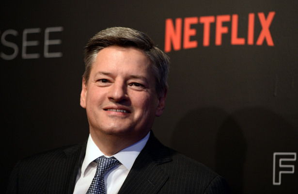 Ted Sarandos named co-CEO at Netflix