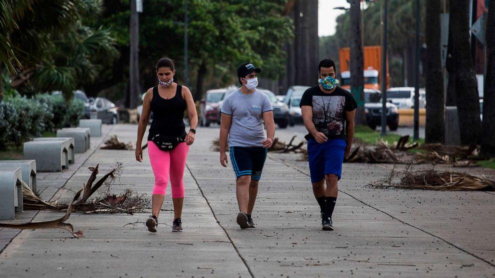 Tropical Storm Isaias impacting Puerto Rico, has path towards the US East Coast