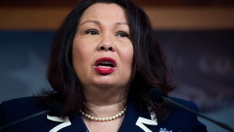 Sen. Tammy Duckworth fires back after Tucker Carlson suggests she 'hates America' – ABC News