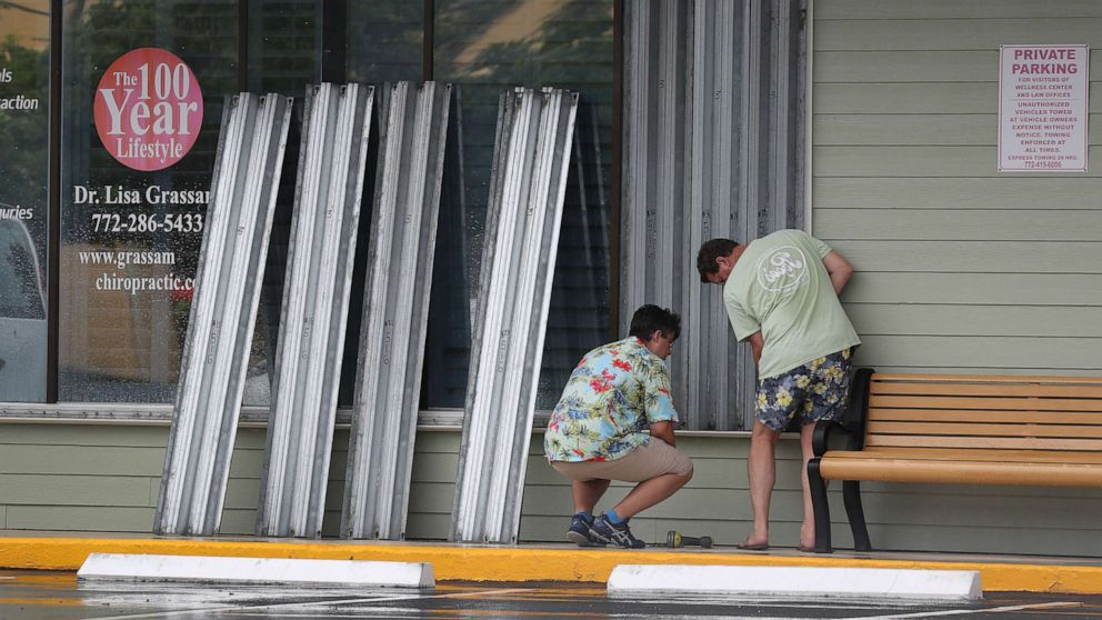 Tropical Storm Isaias expected to near Florida coast, heading for Carolinas by Monday