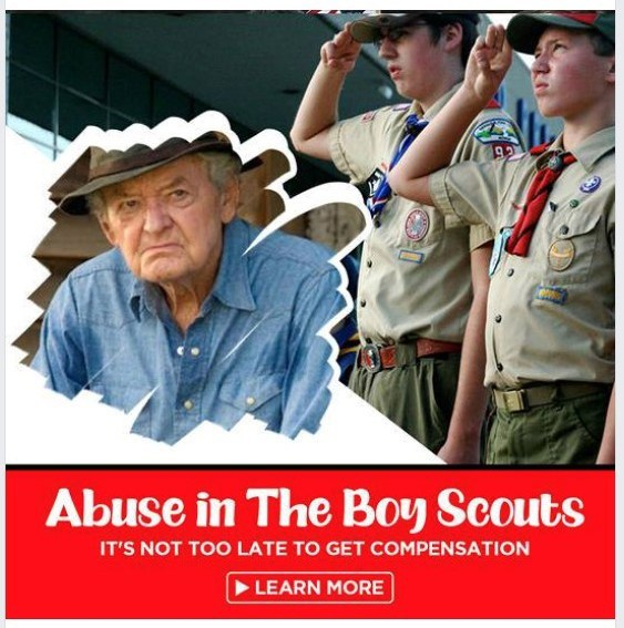 """Hal Holbrook's image erroneously used in """"Abuse in the Boy Scouts"""" class-action ad"""