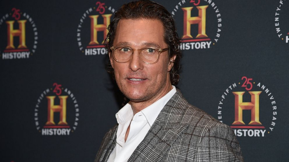McConaughey writing book based on life-changing adventures