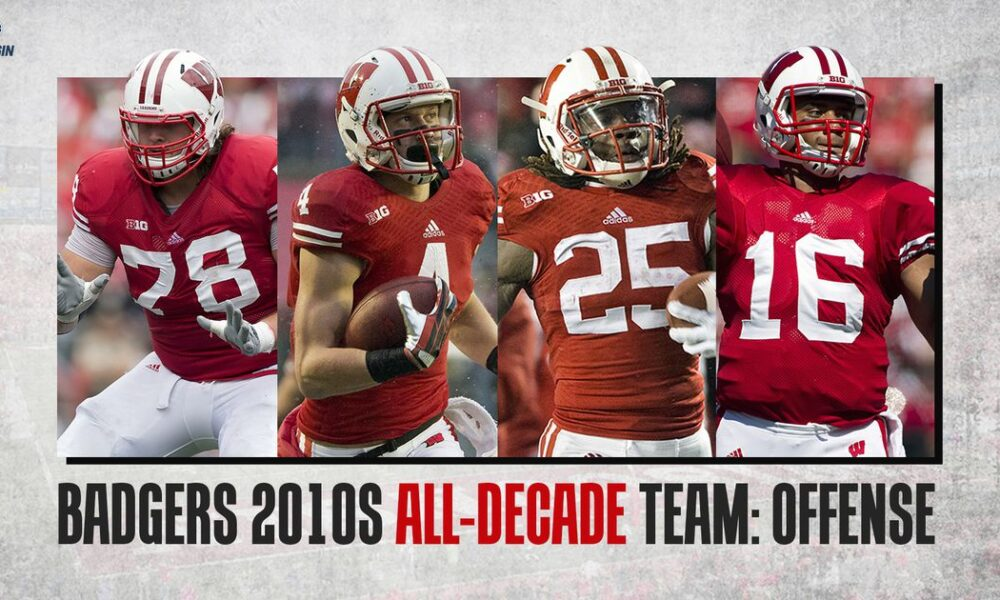 Wisconsin Badgers 2010s all-decade team: Offense