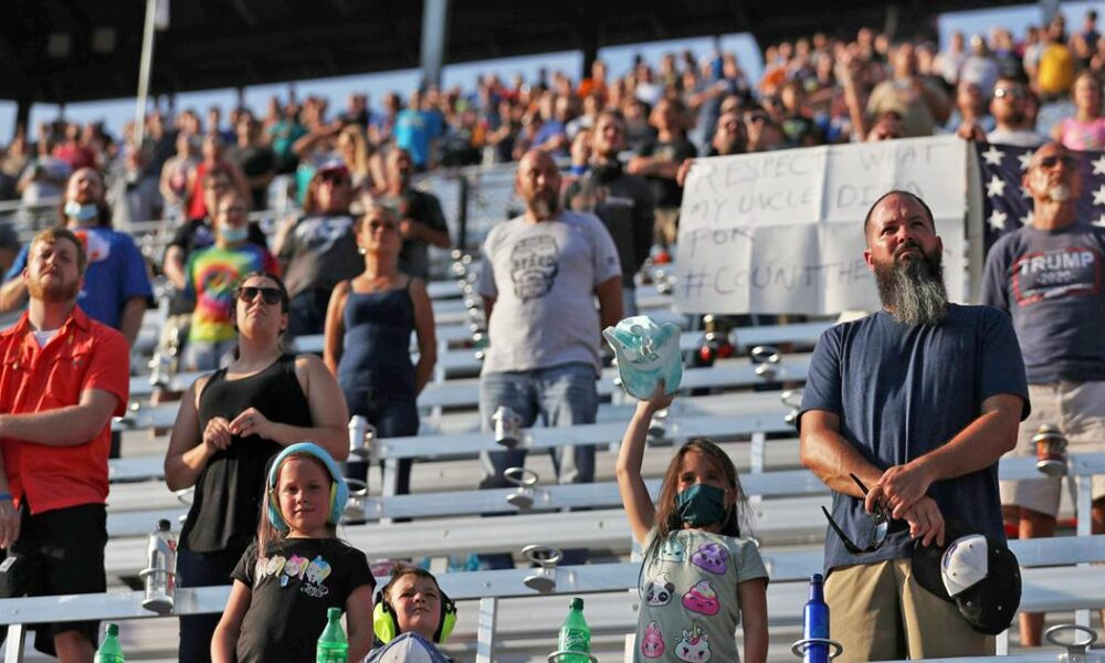 About 20,000 attend NASCAR event in what is likely the biggest sports crowd of the pandemic