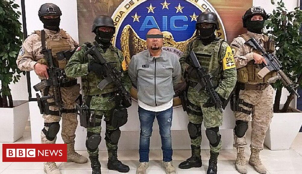 Mexico's war on drugs: Mexican police seize alleged oil theft crime boss The Sledgehammer