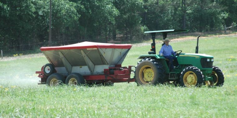 Spreading rock dust on farms could be a major climate action