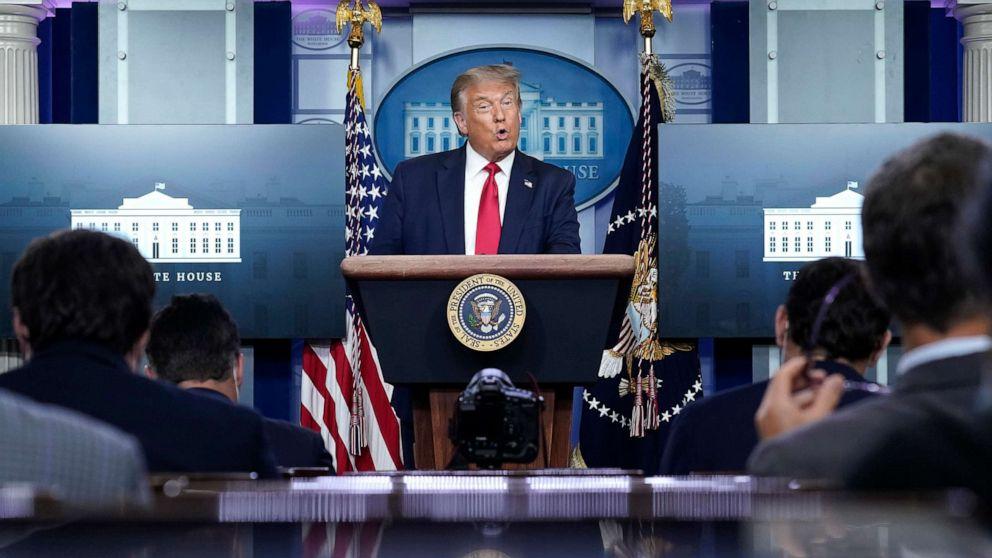 Trump says 'virus is receding' after Birx calls pandemic 'extraordinarily widespread'