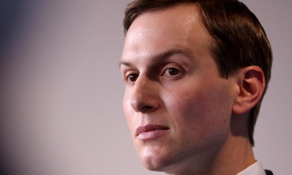 Report: Jared Kushner's Covid-19 testing plan 'went poof into thin air'