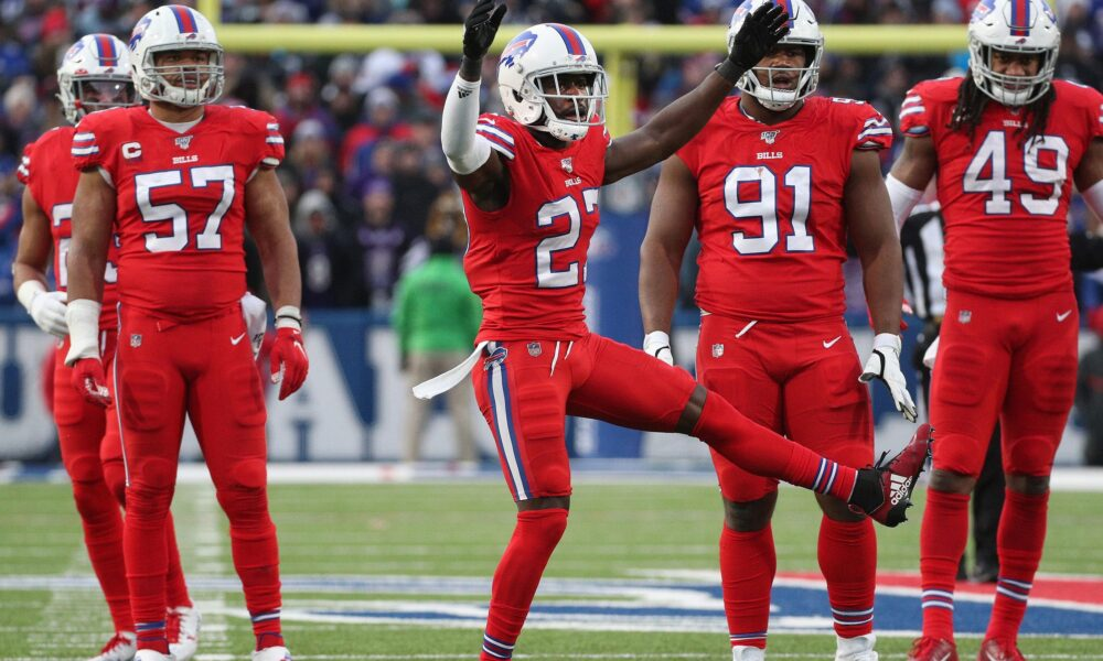 Buffalo Bills' star cornerback Tre'Davious White hasn't decided if he's playing this season