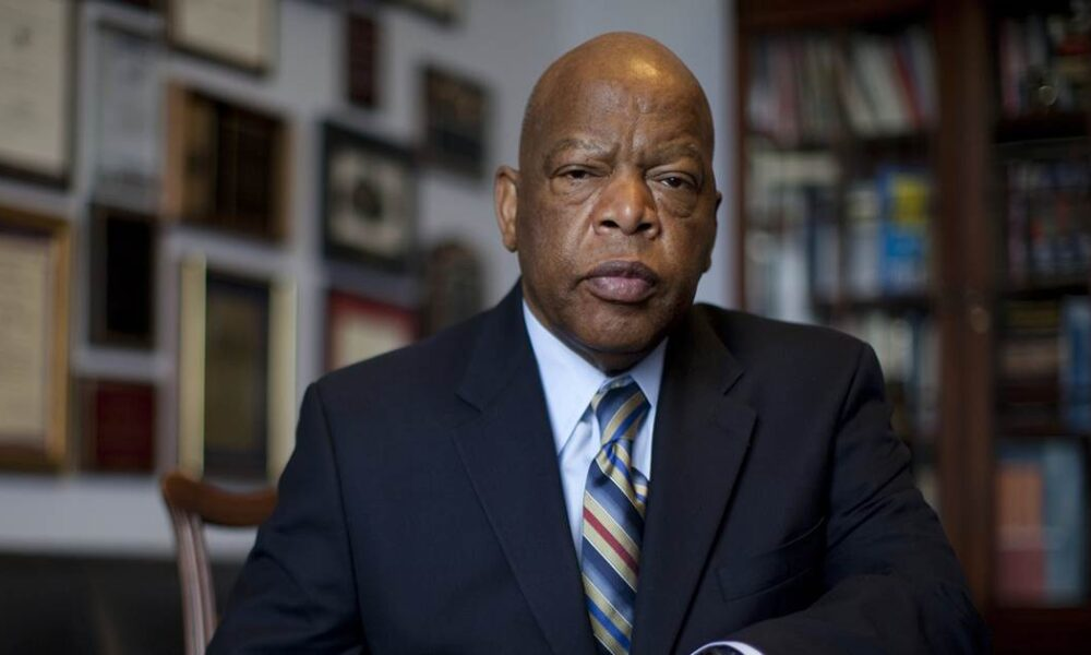 In emotional convention tribute to John Lewis, Democrats stress voting