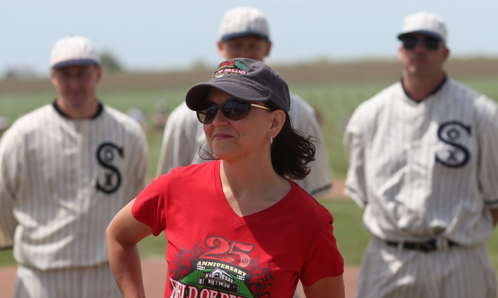 Dying wish of late Field of Dreams owner is still coming true