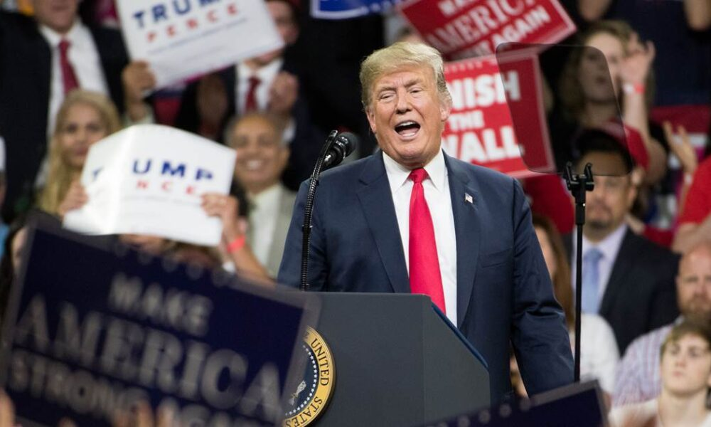 Trump campaign pauses TV ad spending for 'review' of messaging strategy