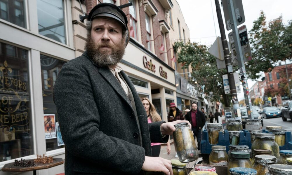 'American Pickle' reviews: Critics say Seth Rogen's scatterbrained comedy leaves 'sour taste'