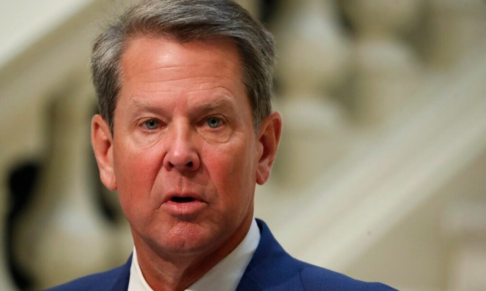 Georgia Gov. Brian Kemp wants to see college football played if 'safety can be secured'