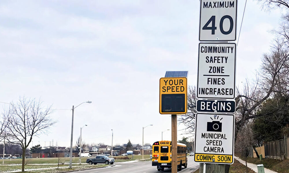 Toronto photo radar has issued nearly 8,000 tickets so far including one car 8 times
