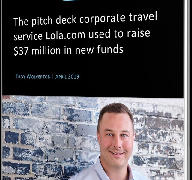 Read the pitch deck that business travel startup Lola used to secure $37 million in funding
