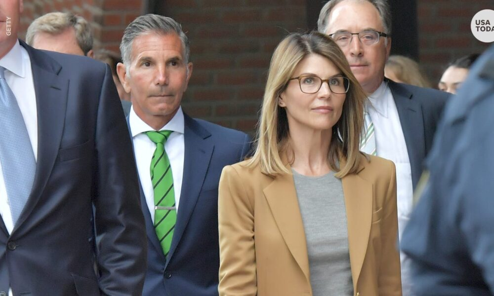 Lori Loughlin's husband Mossimo Giannulli sentenced to 5 months in prison in college admissions scandal