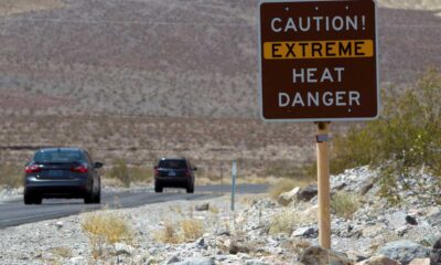 Furnace Creek in Death Valley just hit the hottest temperature recorded on earth in at least a century