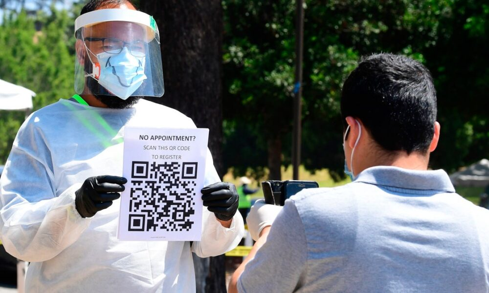 In a Touch-Free World, the QR Code Is Having Its Moment