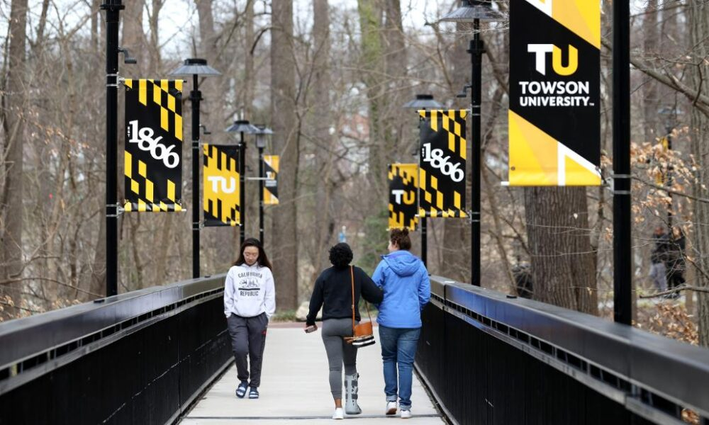 Towson University moves to remote learning after 55 people test positive for coronavirus