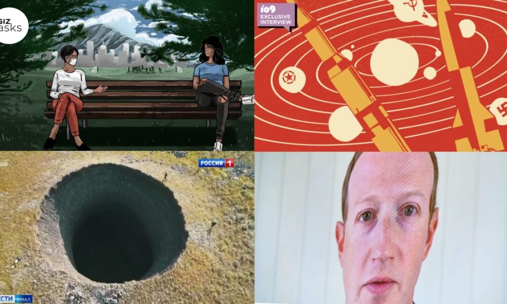 An Exploding Tundra, Voter Fraud, and Ancient Singing Dogs: Best Gizmodo Stories of the Week