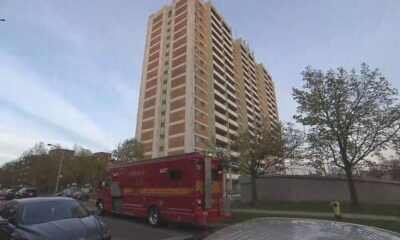 Suspect charged after dead man found inside burning Scarborough apartment – CP24 Toronto's Breaking News