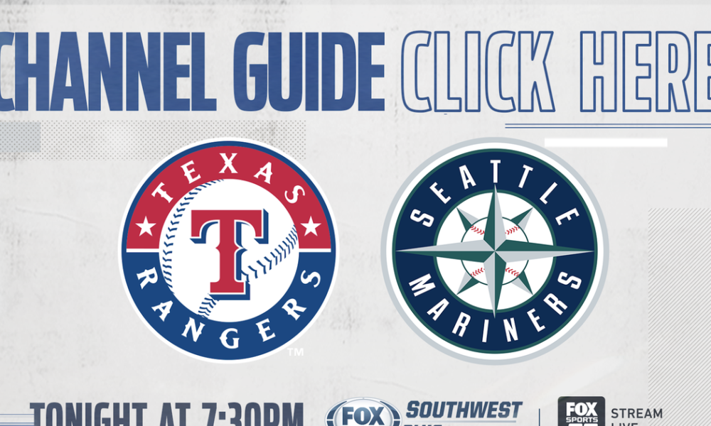 Texas Rangers vs Seattle Mariners – Tonight on FOX Sports Southwest Plus – Channel Listings