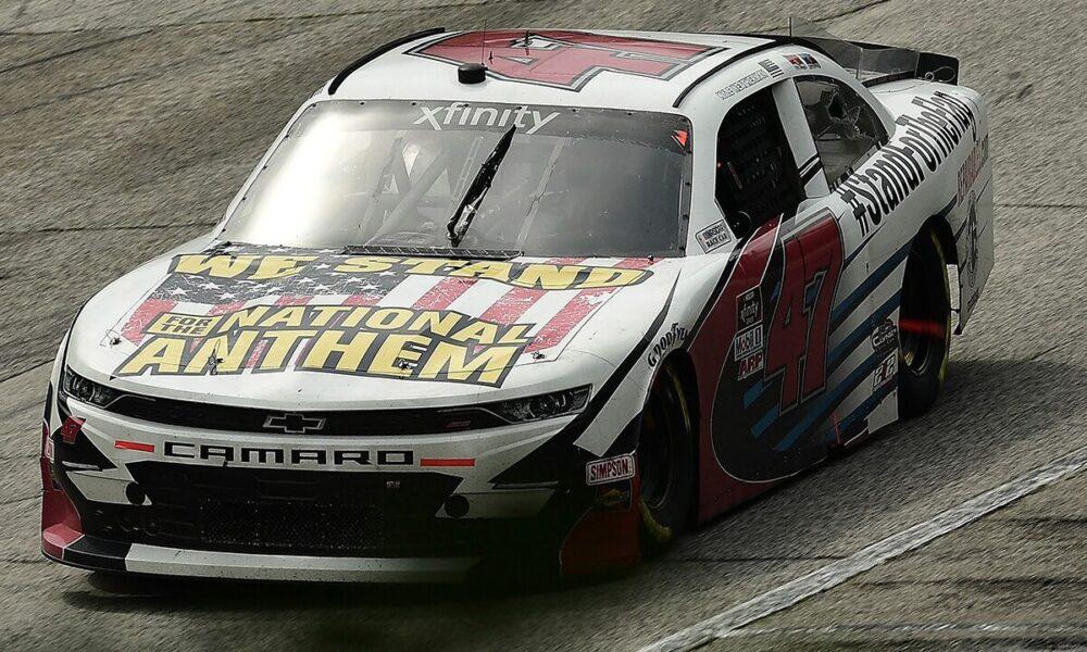 'National Anthem' NASCAR car stolen from Cracker Barrel parking lot