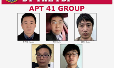 Justice Dept. charges five Chinese members of APT41 over cyberattacks on U.S. companies