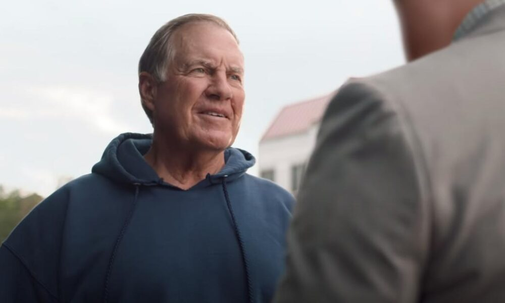 Check out Coach Bill Belichick's new commercial