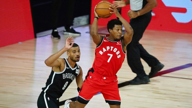 Raptors' Kyle Lowry diagnosed with left ankle sprain ...