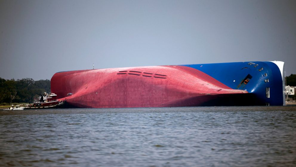 Extra virus safeguards planned for overturned ship removal