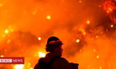 US West Coast fires in maps, graphics and images – BBC News
